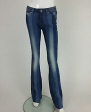 Miss Sixty New Women's Tommy and Stripes Jeans Size W27 Color Blue Retail 141 £
