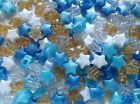 Little Prince Star Shaped Pony Bead Mix - 13mm - Ideal For Dummy Clips