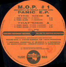 M.O.P. - Movement Of People Number One Panic EP - Tuscania Movement