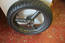Suzuki GSXR1100 WS front wheel and tyre. vgc. straight spoke model.
