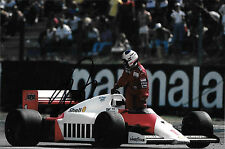 Alain Prost SIGNED  McLaren-TAG MP4/2C , German GP Hockenheim 1986