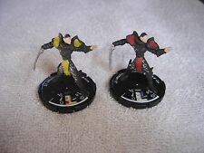 Mage Knight Lot 2 Crystal Bladesman  2000 019  021 WIZKIDS  Game Piece Figures