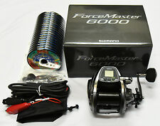 NEW Shimano Force Master 6000 PE#12(110lb)-300m BigGAME Electric Reel From Japan