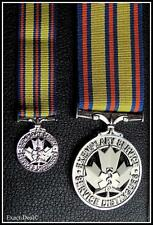 Canada Emergency Medical Services Exemplary Service Medal Full Size + Mini Set