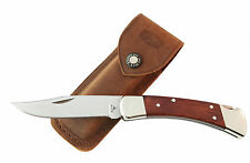 "Buck Knife 110 Folding Hunter D2, Cocobolo, Flat Grind ""Handsome Jack"""