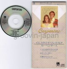 "CARPENTERS Yesterday Once More /Superstar JAPAN 3"" CD S12Y3014 3 tracks 1988"