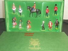 BRITAINS 5562 HARRODS BRITISH CEREMONIAL METAL TOY SOLDIER FIGURE LONDON SET