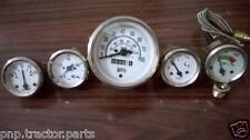 Willys MB Jeep Ford GPW CJ - Speedometer+ Temp+Oil+Fuel+ Amp Gauges Kit- A1