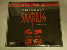 "Dan Brown ""Sakrileg"" (Hörbuch) 4 CD´s"