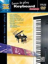 Learn To Play Keyboard  (Book & DVD) (Alfred's Max Series), Amy Rosser, Nathanie