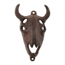 Metal Wall Mount Steer/Animal Skull Beer Bottle Cap Opener Soda/Pop Top Bar Tool