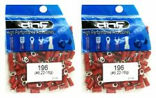 (200 PACK) 22-18 GAUGE RED RING TERMINALS ELECTRICAL WIRE CONNECTORS #6