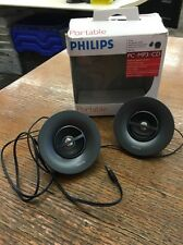 NEW Philips Portable Mini Speaker System SBP1100 for PC iPod MP3 Player