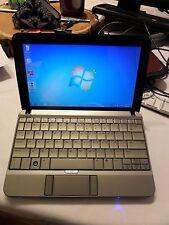 HP 2140 Mini Notebook/Laptop Windows 7 160GB HDD 1GB RAM Webcam