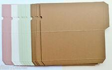 20 buona qualità Lavoretti Cartoncino Custodie Finito Dimensione 200mm x 90mm