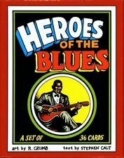 R. CRUMB HEROES OF THE BLUES 36 CARDS TRADING CARD BOXED SET LATEST EDITION