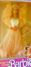 BARBIE PEACHES N' CREAM Vintage #7926 Mattel Pfirsichblüten +Sahne 1984 OVP NRFB