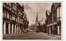 KNIFESMITH GATE, CHESTERFIELD: Derbyshire postcard (C7857)