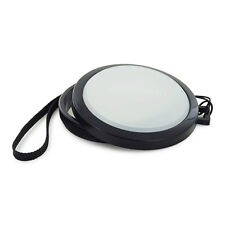 Mennon 72mm Custom White Balance WB Lens Cap with Leash for SLR DSLR Camera