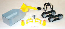 Lego Tipper Bed Digger Bucket 7633 Truck Roll Cage Bulldozer Tread