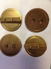 ELECTRICAL BLANKING PLUG BRASS 32mm - Price for Pack of 4 - DB32