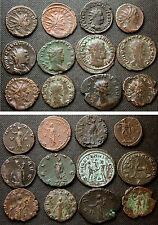 12 in un secondo momento Roman monete di rame/bronzo