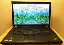 "Lenovo ThinkPad W510 Intel Core i7-Q720 500GB HDD 8GB RAM 15.6"" Windows 7 Pro"