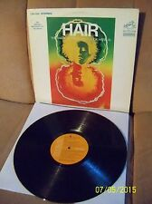 HAIR Original Cast 1968 RCA LP LSO 1150 EXC/EXC+