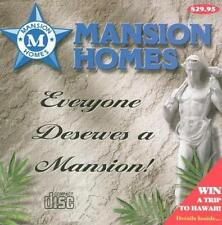 Mansion Homes 2 PC CD Turning Point explore interactive houses designs selection