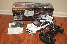 Kyosho 30914T1B Fazer VE-X 2007 Subaru Impreza Rally Car 1/10 UNTESTED AS IS