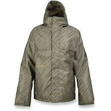 Burton Poacher Jacket Men Snowboard Ski Waterproof Insulated Hazel Pinstripe S