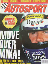 AUTOSPORT MAGAZINE FEB 2000 FRANCHITTI SURVIVED YVAN MULLER JEAN PABLO MONTOYA