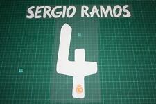 Real Madrid 13/14 #4 SERGIO RAMOS 3rd Awaykit Nameset Printing