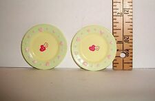 MINI KITCHEN FOOD RE-MENT HEART DINNER PLATES ACCESSORY LOT 1/6 SCALE RETIRED