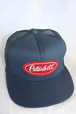 PETERBILT  TRUCKS  HAT WITH EMBROIDERY PATCH  ADJUSTABLE  , SIZEING, NAVY