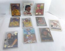 Autograph NASCAR Driver Collector Cards, Waltrip, Jarett, Bodine Mixed Lot of 11