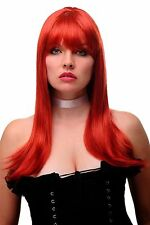 Women's Wig 60s Sixties Backcombed Beehive red long smooth GF-W2212-137