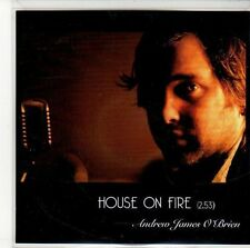 (ED610) Andrew James O'Brien, House On Fire - 2013 DJ CD
