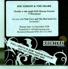 (CX863) Joe Gideon & The Shark, Dol / Harum Scarum - 2008 DJ CD