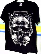 Escape The Fate shirt - 3 skull - size M