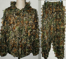 3D Leaf Camouflage Hunting Jacket Yowie Sniper Paintball Ghillie Suit
