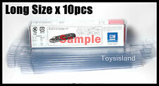 TOMICA SIZE #6 LONG CAR PROTECTIVE CLEAR PLASTIC BOX 10 PCS DIECAST CAR NEW TOMY