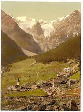 Gehts et mur de glace gehts Tyrol A4 papier photo