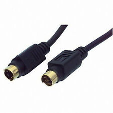 S-VHS S-Video 5Mtr Gold 4 Pin Lead Flylead Cable