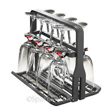 Wine Glass Basket Delicate Stem Glasses Rack Fits Miele Dishwasher