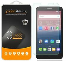 "3X Supershieldz ALCATEL OneTouch Pop 3 5.5"" Tempered Glass Screen Protector"