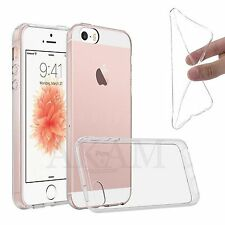 Ultra Slim Soft Silicon Clear Gel Transparent Back Case Cover For iPhone 5 5G 5S