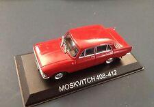 MOSKVITCH 408-412 VOITURE MINIATURE 1/43 IXO IST LEGENDARY CAR AUTO B35