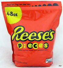 Reese Pieces 48 oz Free Shipping Bulk Candy Reeses Peanut Butter Piece Peanuts