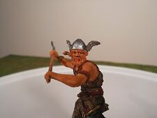 Elastolin 7cm-70mm Pro-Painted Viking with Long Axe, ELASTOLIN CONVERSION FIGURE